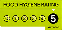Oakwell Guest House Bridlington has a Food Hygiene Rating of 5