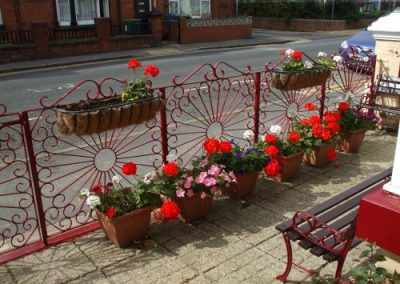 Front Garden at Oakwell Guesthouse, Bridlington